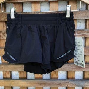 Lululemon Hotty Hot Shorts Black 2